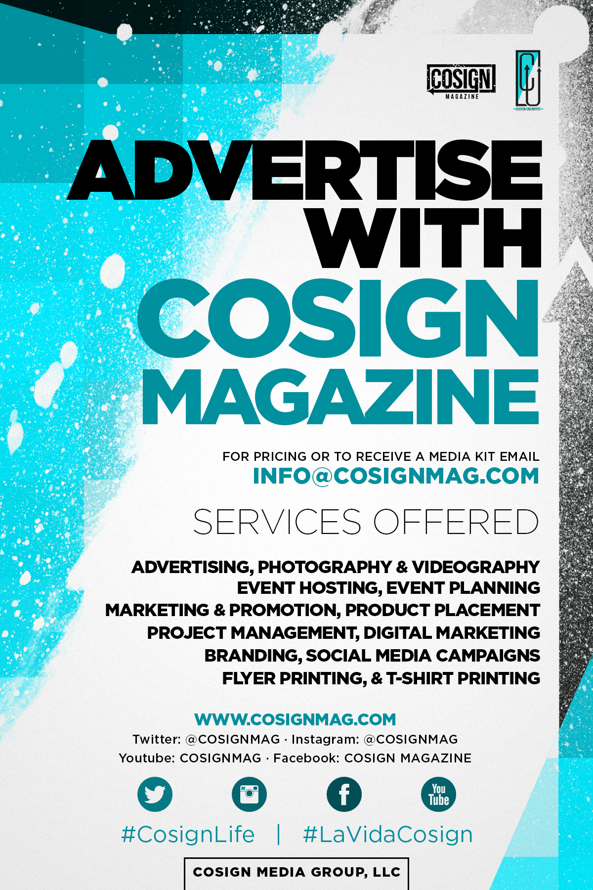 Business: 8 Reasons to Advertise with COSIGN Magazine – COSIGN ...